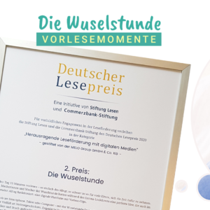 Deutscher Lesepreis Leseförderung mit digitalen Medien